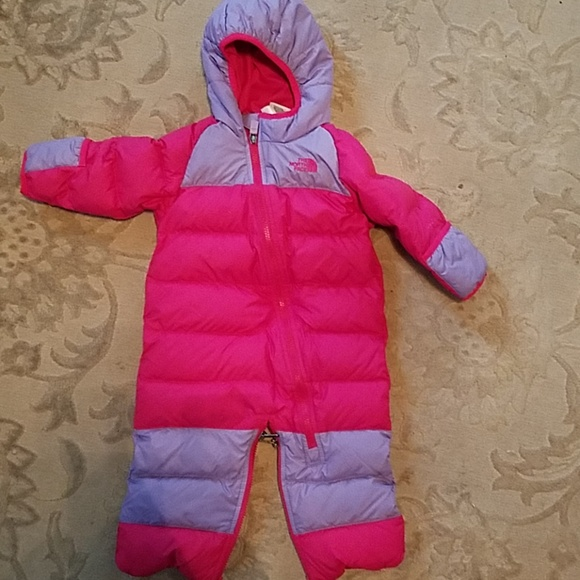 67024b02d Baby Girl North Face winter snow suit